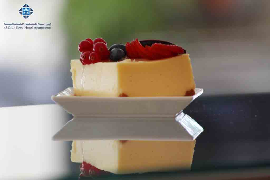 Cheesecake at Cafe Day to Day